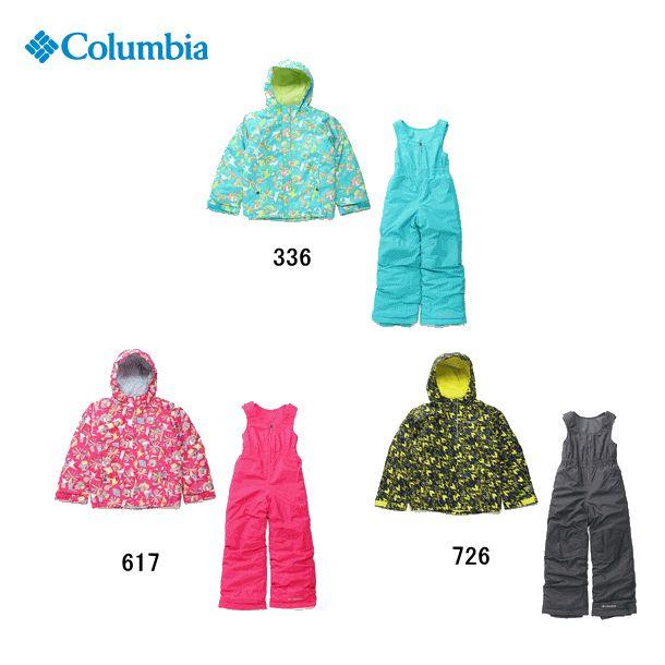 【2018-19 Fall&Winter】Columbia/コロンビア Buga Set(バガセット)/SY1091【スノースーツ】【上下セット】【スキー】【スノーボード】【雪遊び】【110cm・120cm】【子供用】