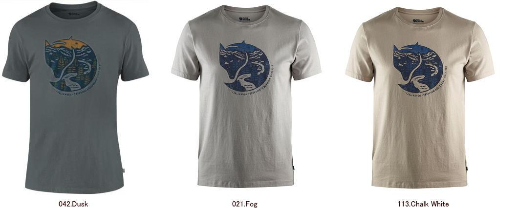 フェールラーベン 87220 アークティックフォックスTシャツ[メンズ]/メール便選択で送料無料