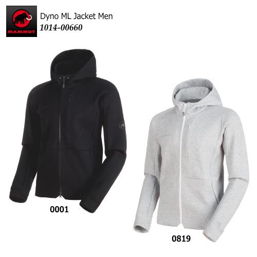 【2018 Fall&Winter】MAMMUT/マムート Dyno ML Jacket Men(ダイノMLジャケット メンズ)/1014-00660【メンズ】【パーカー】