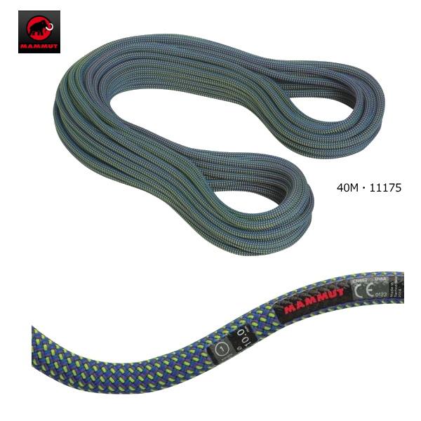 【送料無料】MAMMUT/マムート 10.0 Galaxy Dry 40M(10.0ギャラクシードライ 40m)/2010-02661【クライミングロープ】【シングルロープ】【40m】