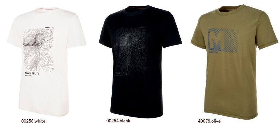 マムート マッソネ Tシャツ メンズ 1017-00950 半袖 アウトドアシャツ メール便選択で送料無料