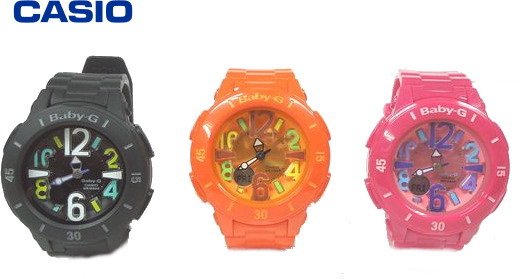 【送料無料】CASIO/カシオ Baby-G Neon Marine Series(ベビーG ネオンマリンシリーズ クオーツ )[レディース]/BGA-171【腕時計】【スポーツウォッチ】