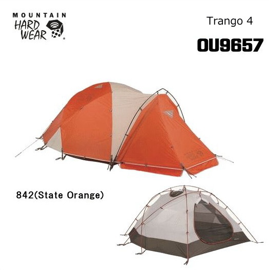 【送料無料】MOUNTAIN HARD WEAR/マウンテンハードウェア Trango4(トランゴ4)/OU9657【テント】【ダブルウォールテント】【極地仕様】【ヒマラヤ遠征】【4人用】