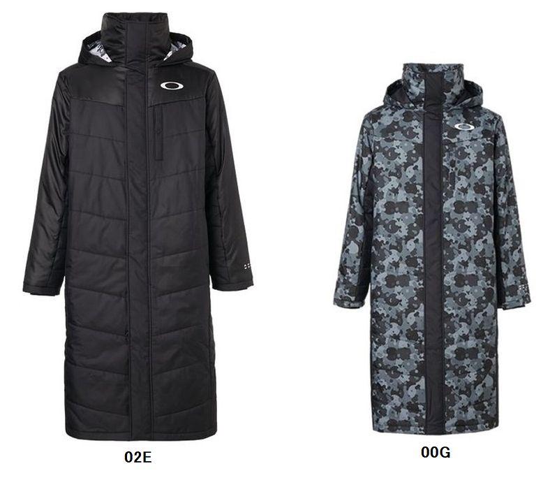 【在庫処分!】オークリー 412856JP ロングコート ENHANCE WIND WARM LONG COAT 9.7 [メンズ] 男性用