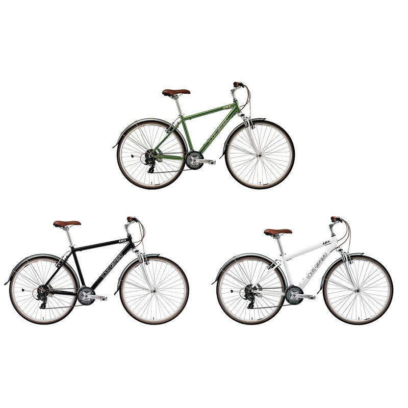 【店頭受取限定】 ルイガノ(LOUIS GARNEAU) LGS-C9(TR1後継モデル) 2018年モデル シティバイク [S-STAGE]