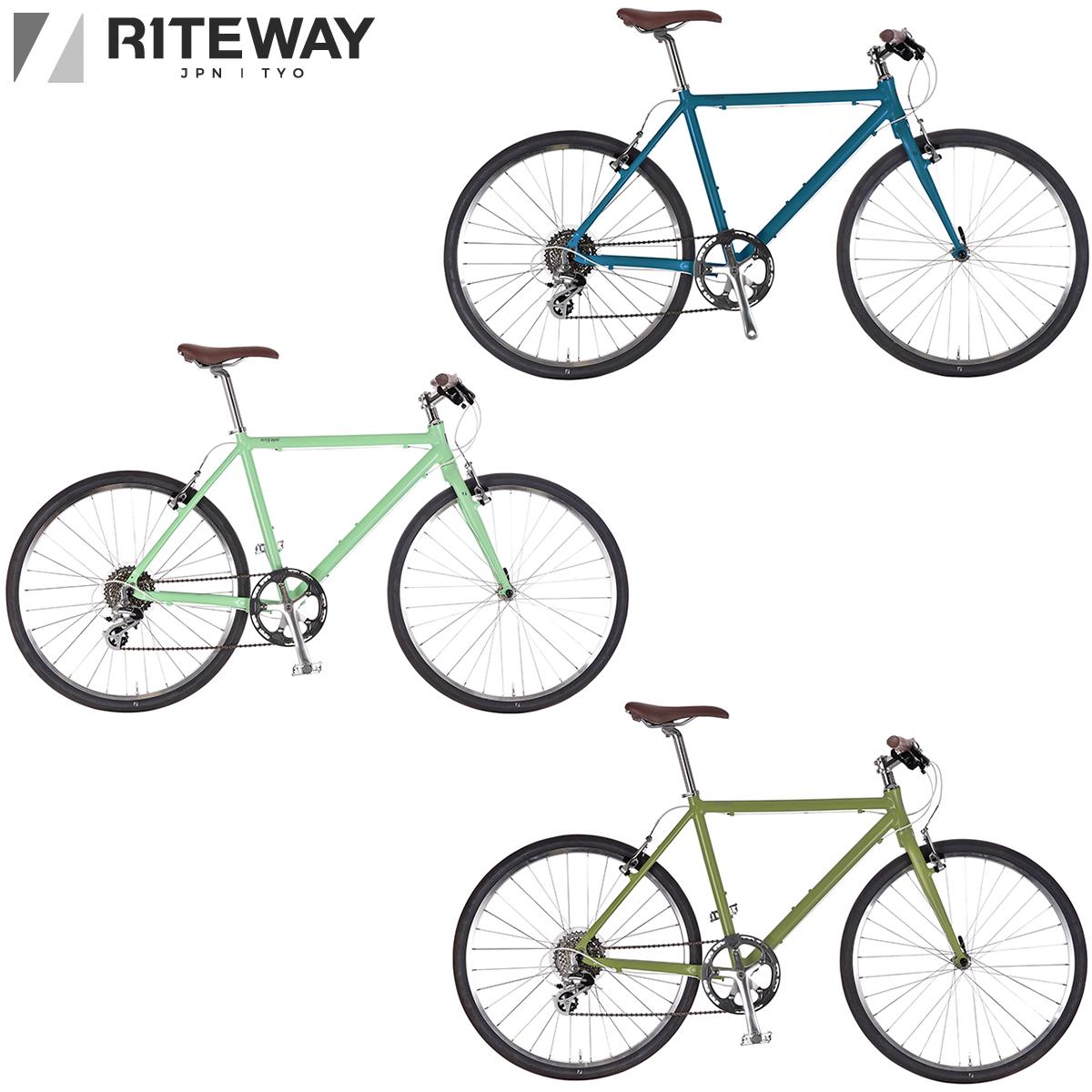 お得クーポン発行中 最短即日出荷 完全組立 公式 発送 ライトウェイ RITEWAY SHEPHERDクロスバイク シェファード 2020-2021継続