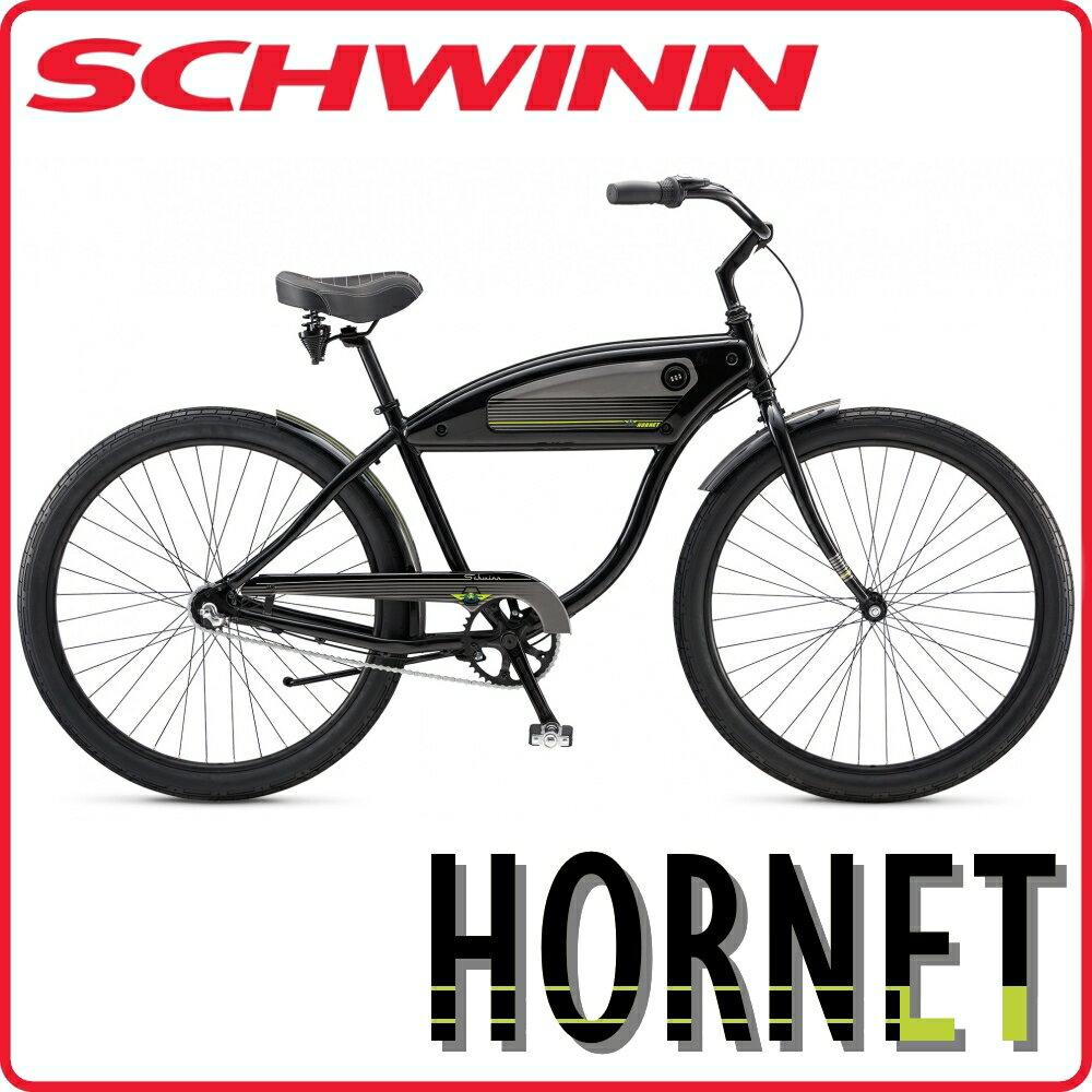 【関東限定送料無料】シュウィン(SCHWINN) HORNET(ホーネット) 2018年モデル 155-185cm ビーチクルーザー