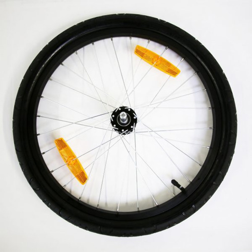 バーレー 20インチタイヤ付きアルミホイール【プッシュボタン】 BURLEY 自転車 サイクルトレーラー 修理用部品