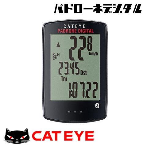 【24時間限定エントリーでP8倍★15日(日)0時より】キャットアイ パドローネデジタル Bluetooth スピード/ケイデンスセンサーセットモデル CC-PA400B サイクルコンピューター