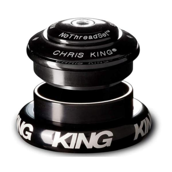 【エントリーでP10倍★10/28(日)10時~】クリスキング インセット7 【ブラック】CHRIS KING INSET7 自転車 ヘッドパーツ【送料無料】