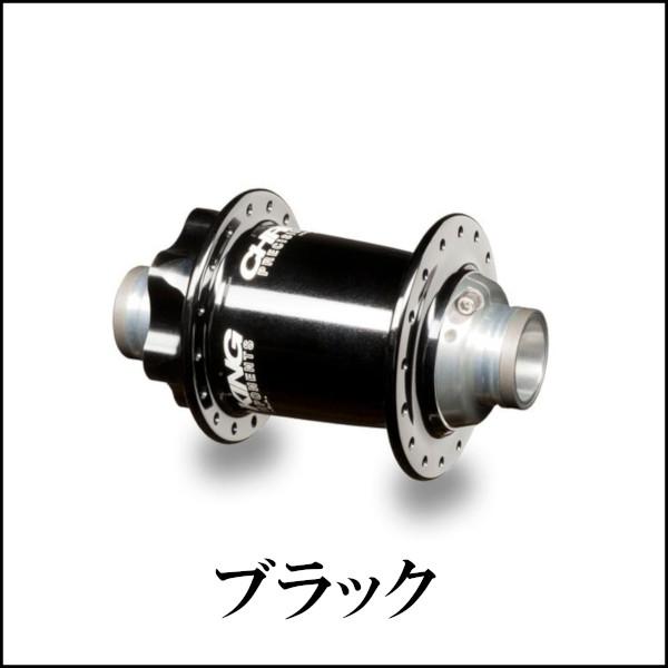 クリスキング ISO LDフロントハブ スチールベアリング 20mm 32H ブラック