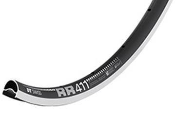 DTスイス RR411アシンメトリック 【28H】DT SWISS 自転車 リム