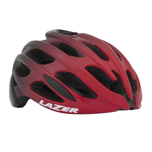 LAZER Blade AF【レッド/ブラック:L(58-61cm)】自転車 ヘルメット