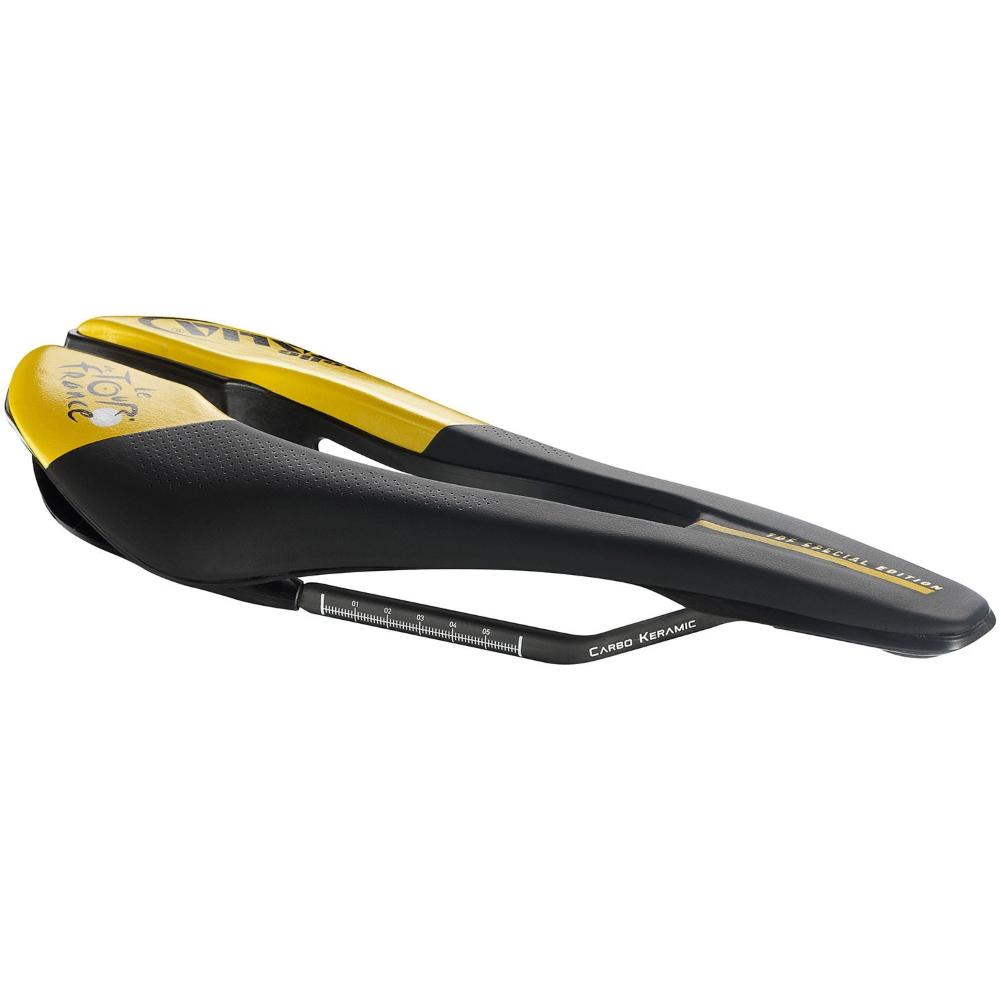 セライタリア(Selle ITALIA) ツール・ド・フランス SP-01 キットカルボニオ スーパーフロー Sサイズ(Tour de' France SP01 Kit-Carbonio SuperFlow S-Size) 2019年モデル[S-STAGE]