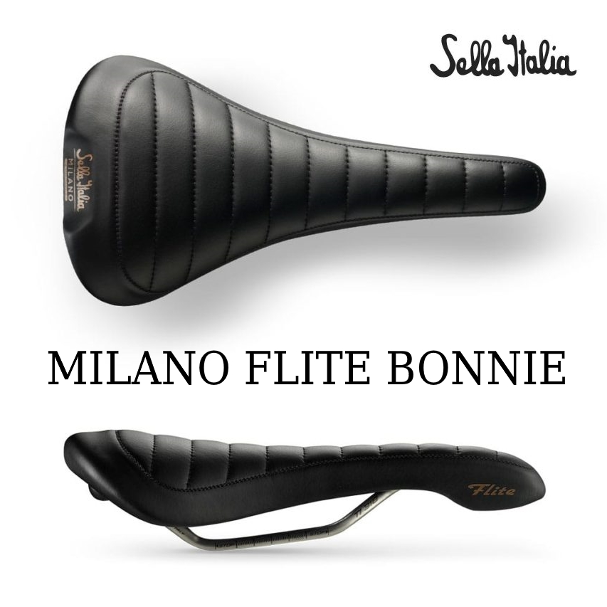Sella ITALIA(セライタリア) 2018年 MILANO FLITE BONNIE(ミラノ フライト・ボニー) 革サドル