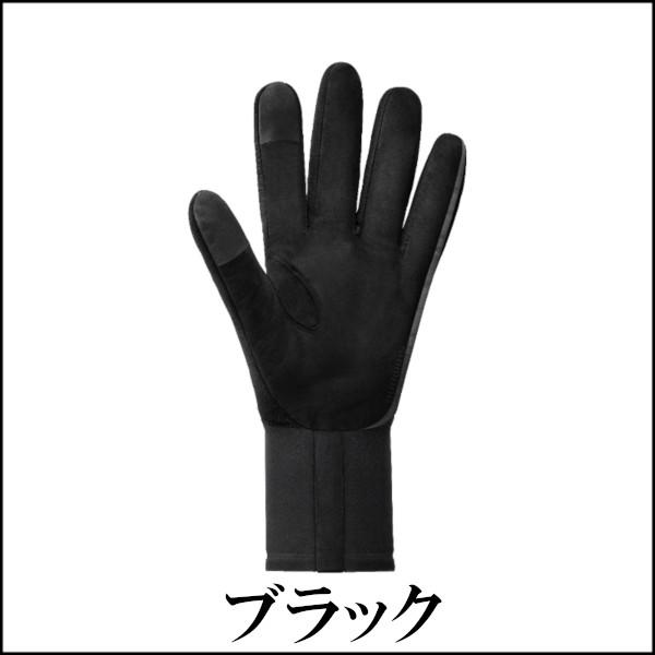 シマノ S-PHYRE ウインターグローブ 2018モデル ブラック フルフィンガーグローブ
