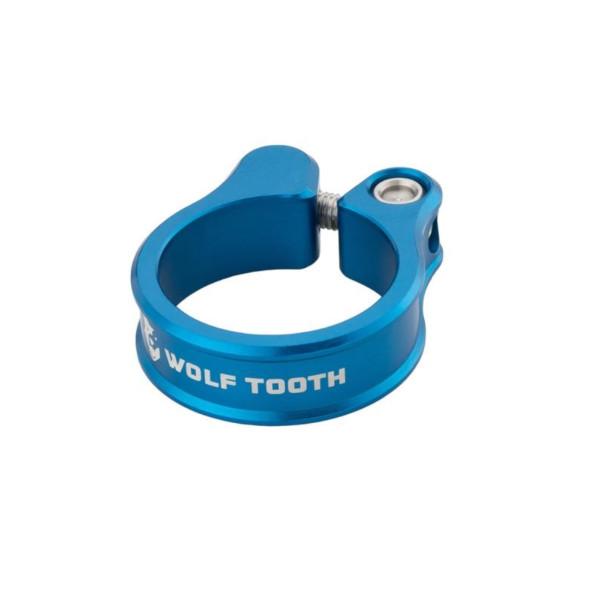 メール便送料250円 絶品 ウルフトゥース Wolf Tooth Seatpost Clamp Blue 超人気 WOLF 36.4mm TOOTH