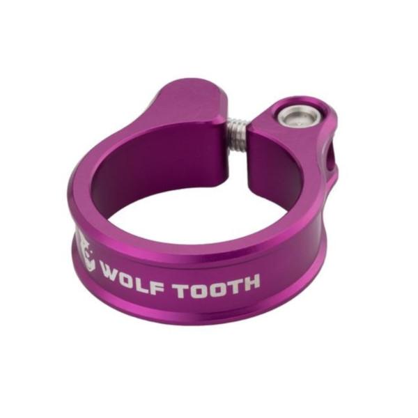 テレビで話題 メール便送料250円 ウルフトゥース Wolf Tooth Seatpost WOLF Clamp Purple 現品 36.4mm TOOTH