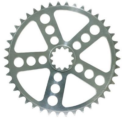 WHITE INDUSTRIES(ホワイトインダストリーズ) ENO チェーンリング 36・38・42T(17-) シルバー 自転車