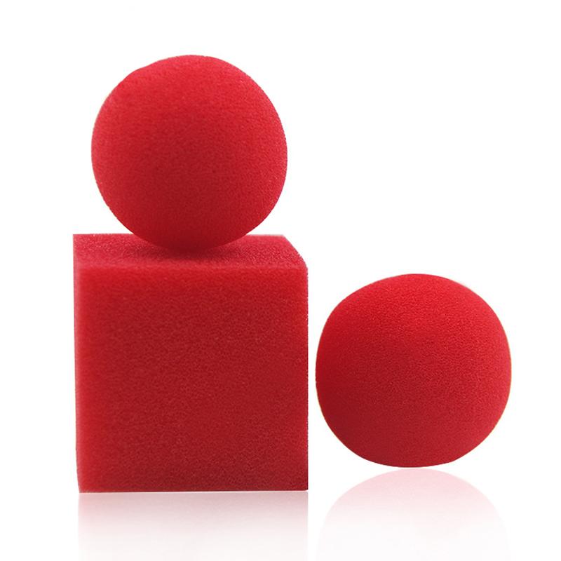 安い手品グッズ 初心者でも完全対応OK ボールからキューブ 手品グッズ マジック道具 スポンジ 定価の67%OFF 初売り
