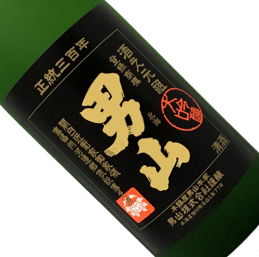 男山 純米大吟醸 1.8L【木箱入】【取寄せ】【名】【日本酒/清酒】【1800ml/一升瓶】【北海道/木綿屋男山本家】おとこやま
