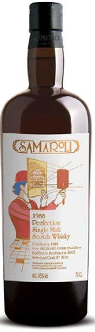 サマローリ パーフェクション 1988  (ハイランドパーク1988) 45%  700ml【サマローリ】【高級ウイスキー/蒸留酒】【株式会社 ウィスク・イー】【お取り寄せ】【SAMA-PERF-0001】