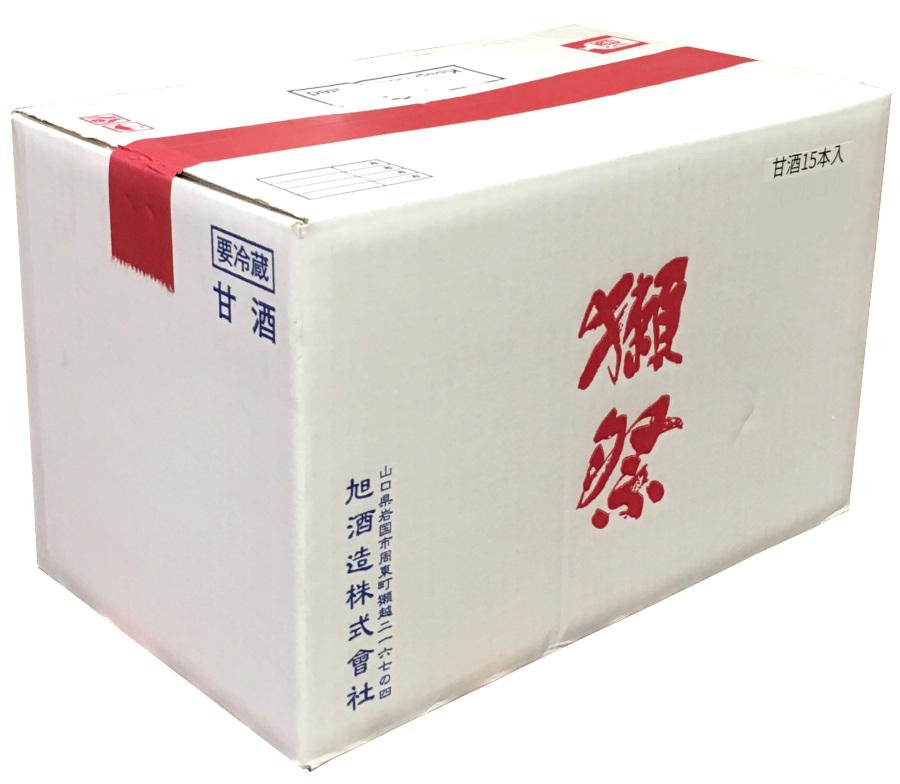 獺祭 麹仕立て甘酒 825g×15本(1ケース)【送料無料】要冷蔵 包装のし非対応 山田錦 等外米 アルコール0% 清涼飲料水 あまざけ 免疫力