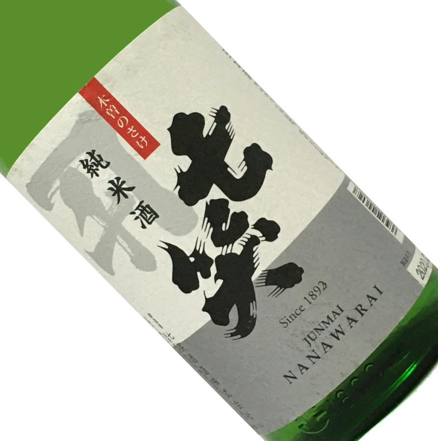 七笑 純米酒 1.8L 取寄せ 販売実績No.1 日本酒 清酒 長野 1800ml 木曽のさけ 七笑酒造 一升瓶 在庫処分 ななわらい