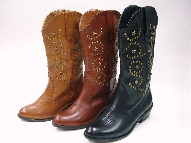 42770 Venti Anni Venti preparation of phthalocyanine ☆ vintage finish, half-Western boots with Filipa