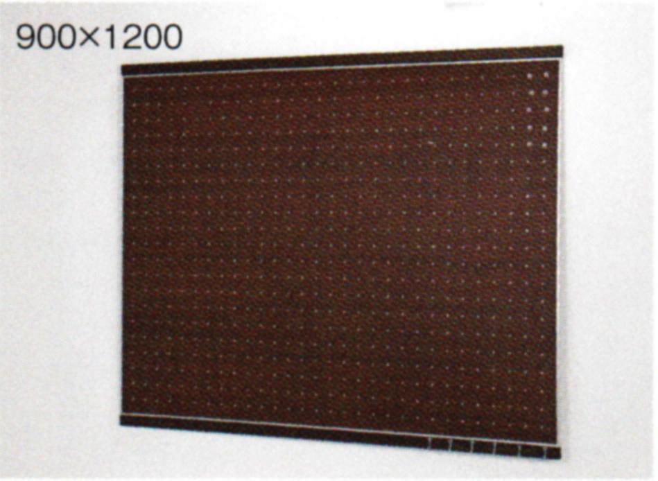 送料無料! ベルク フック付マグボード 【セピア】木目 マグネットボード 120X90cm(外寸116.8X95.2cm)