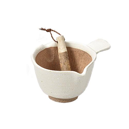 すり鉢 在庫一掃 日本製 おしゃれ 離乳食 すりごま 離乳食納豆鉢 かきまぜ納豆鉢 煎茶 モノトーン キッチン用品 擂粉木 深 小さい 深型 茶葉 山椒 すりこぎ付すり鉢 無料サンプルOK スパイス取っ手付き