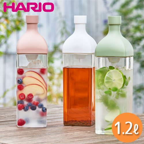 ハリオ水出し角型ボトルカークボトル