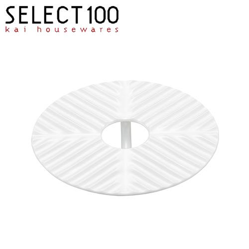 蒸し蓋 蒸し皿 洗いやすく匂いや色のつかないセラミック製 在庫限り 落し蓋 16cm 割引も実施中 セラミック 売却 セレクト100 貝印