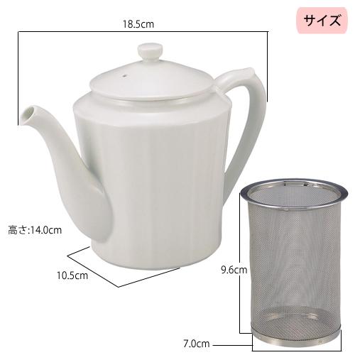 こし網に昆布とかつおを入れるだけで簡単にだしが取れます。お茶感覚でだしを楽しむ便利なポットです。