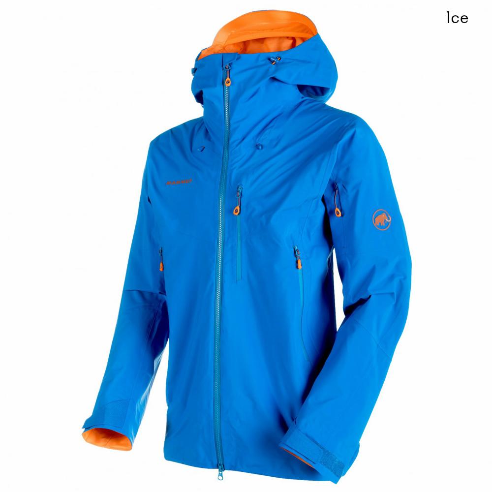 MAMMUTのフラッグシップライン、ノードワンドのハイエンドモデル セール MAMMUT Nordwand Pro HS Hooded Jacket Men ノードワンド プロ HS フーデッド ジャケット マムート SUNRISE ICE