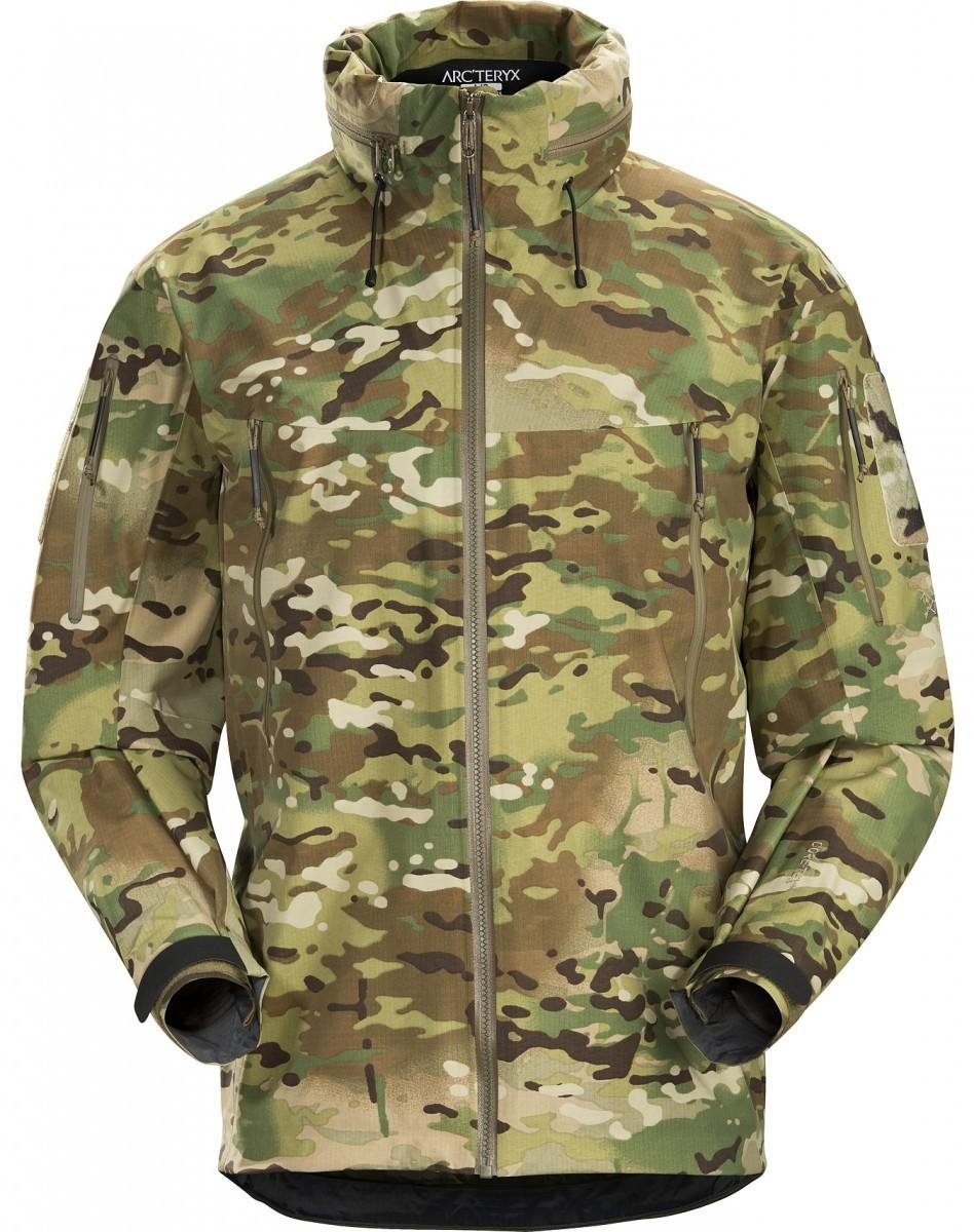 最高のアウトドアブランドが製作した本物の軍向け最高峰モデル アークテリクス LEAF アルファ ジャケット Gen2 後期 REVISED Muilticam リーフ ARC'TERYX ALPHA JACKET マルチカム 迷彩 最新モデル
