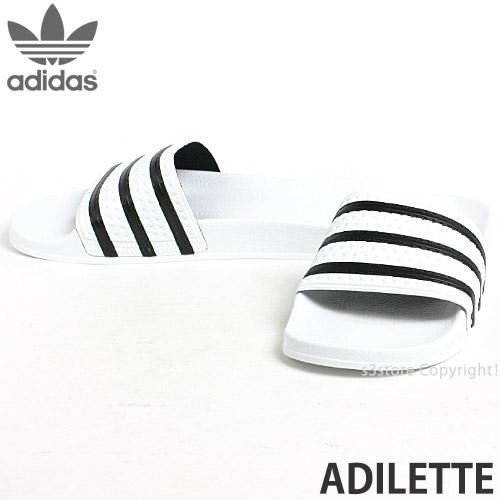 63987957491f レディース ブラック 定番 本革 メンズ adidas Originals ADILETTE CQ3094 CORE made in Italy  サンダル BLACKアディダス オリジナルス アディレッタ