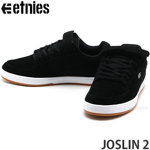 エトニーズ ジョスリン 2 【Etnies JOSLIN 2】 スニーカー シューズ 靴 スケシュー スケートボード メンズ 男性 SKATEBOARD カラー:BLACK/WHITE/GUM