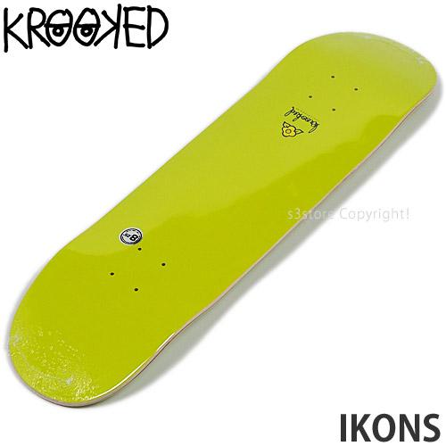 "Krooked Skateboard Deck Ikons 8.25/"" With Griptape"