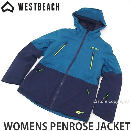 【送料無料】 ウエストビーチ ウィメンズ ペンローズ ジャケット 【WESTBEACH WOMENS PENROSE JACKET】 国内正規品 スノーボード スノボ レディース ウェア ウエア SNOWBOARD WEAR カラー:SEAWEED