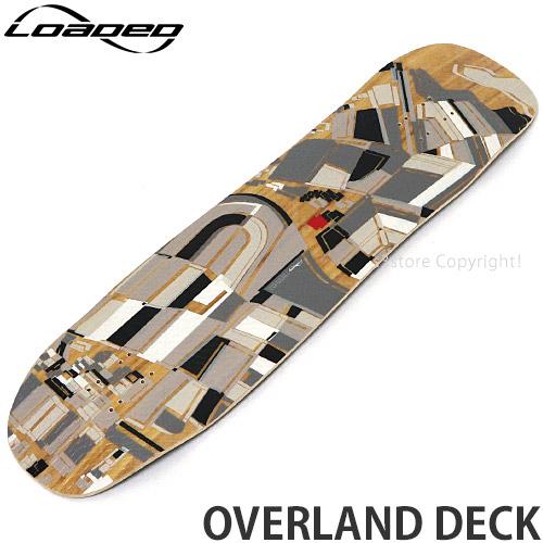 ローデッド オーバーランド デッキ 【LOADED OVERLAND DECK】 スケートボード スケボー ロンスケ ロングボード SKATEBOARD サイズ:9.5 x 37