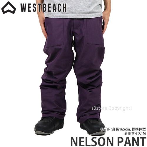 20model ウエストビーチ ネルソン パンツ 【WESTBEACH NELSON PANT】 国内正規品 スノーボード スノボー ウエア ボトムス メンズ 男性 SNOWBOARD WEAR MENS カラー:IMPERIAL PURPLE