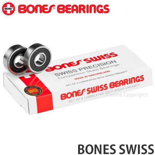 S3STORE エススリーストア \スーパーSALE ボーンズ スイス 安心の実績 高価 買取 強化中 ベアリング BONES SWISS 世界中のスケーターが認める高性能ロングセラーベアリング BEARING スケートボード スケボー 奉呈