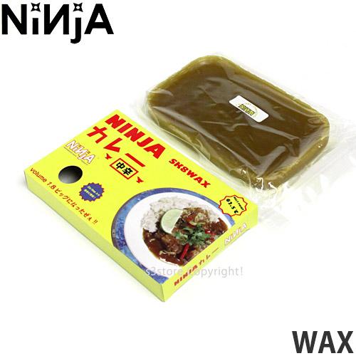 購買 ニンジャ NINJA ワックス WAX スケートボード ストリート パーク カーブ スライド 国内ブランド セクション ボックス 日本限定 カラー:Curry SKATE