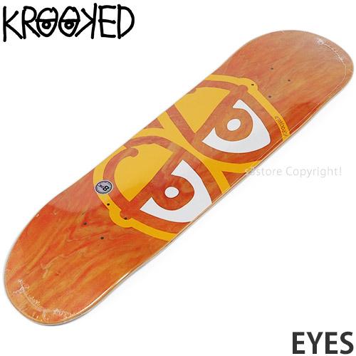 クルキッド KROOKED アイズ 買取 EYES スケートボード スケボー ストリート デッキ サイズ:8.06