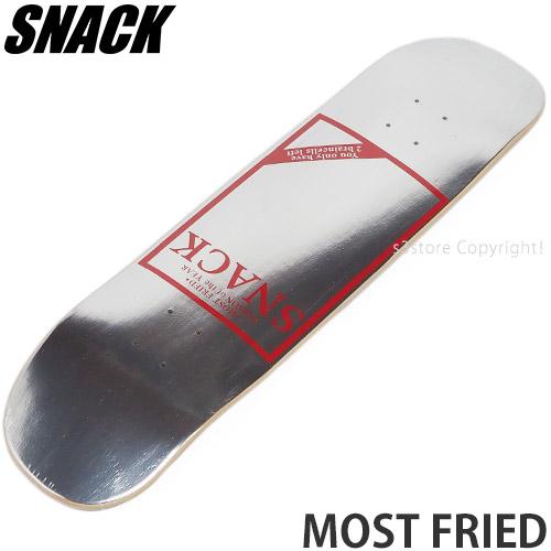 スナック SNACK モスト フライド デッキ MOST FRIED DECK スケートボード サイズ:8.25