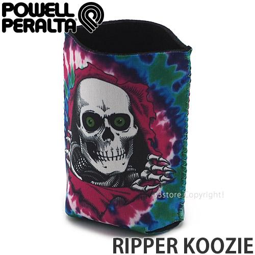 パウエル POWELL リッパー クージー RIPPER 入荷予定 KOOZIE 缶クーラー 缶ホルダー 保冷 保温 ビールホルダー キャンプ カラー:Tie Dye アウトドア Purple S BBQ サイズ:O ビアクージー 売却 屋外