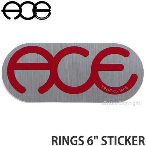 エース ACE リングス お洒落 ステッカー RINGS 6