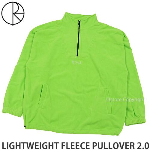 ポーラー スケート カンパニー POLAR SKATE CO 並行輸入品 ライトウェイト フリース プルオーバー 2.0 PULLOVER LIGHTWEIGHT GREEN トップス 公式通販 メンズ スケートボード FLEECE カラー:GECKO 長袖