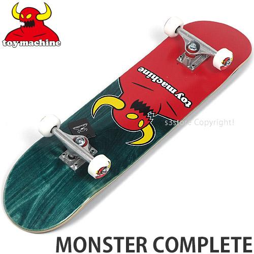 トイ マシーン TOY MACHINE モンスター コンプリート MONSTER COMPLETE スケートボード スケボー 完成品 ストリート パーク 初心者 SKATEBOARD カラー:Green サイズ:8.0